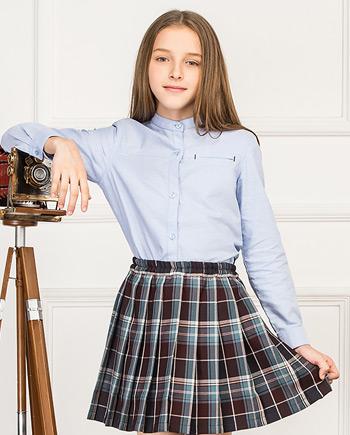 新品可爱格子短裙