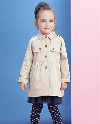 时尚百搭可爱小气质外套风衣